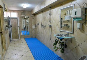 Club wellness Sauna, steam bath and relaxing room